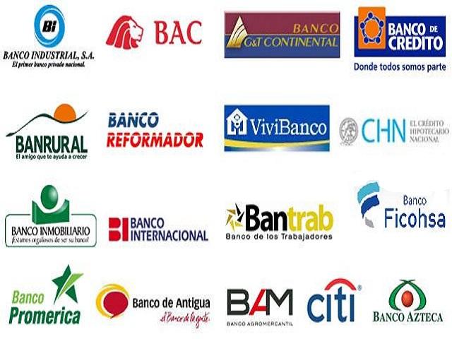 bancos autorizados