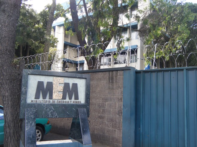Ministerio de energ a y minas for Ministerio de minas