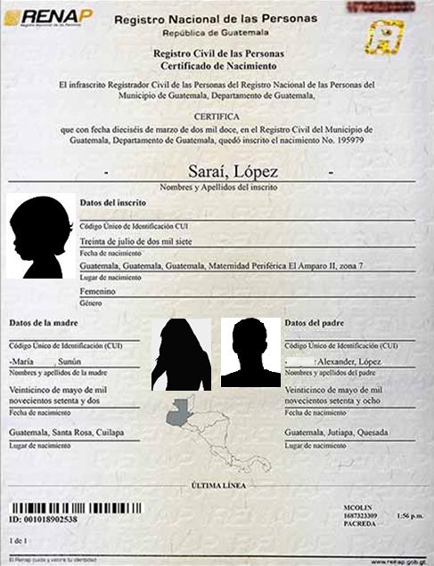 Obtención de Pasaporte para menor de edad