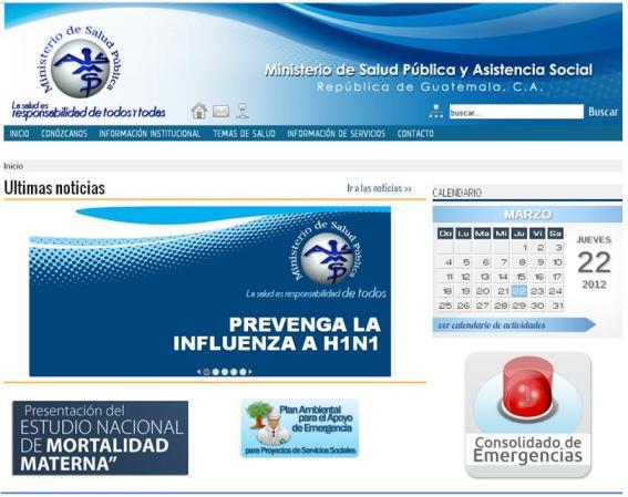 P gina web del ministerio de salud p blica y asistencia social for Ministerio del interior pagina oficial