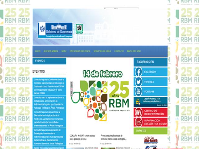 Bienvenido al Sitio Web Público Nacional de