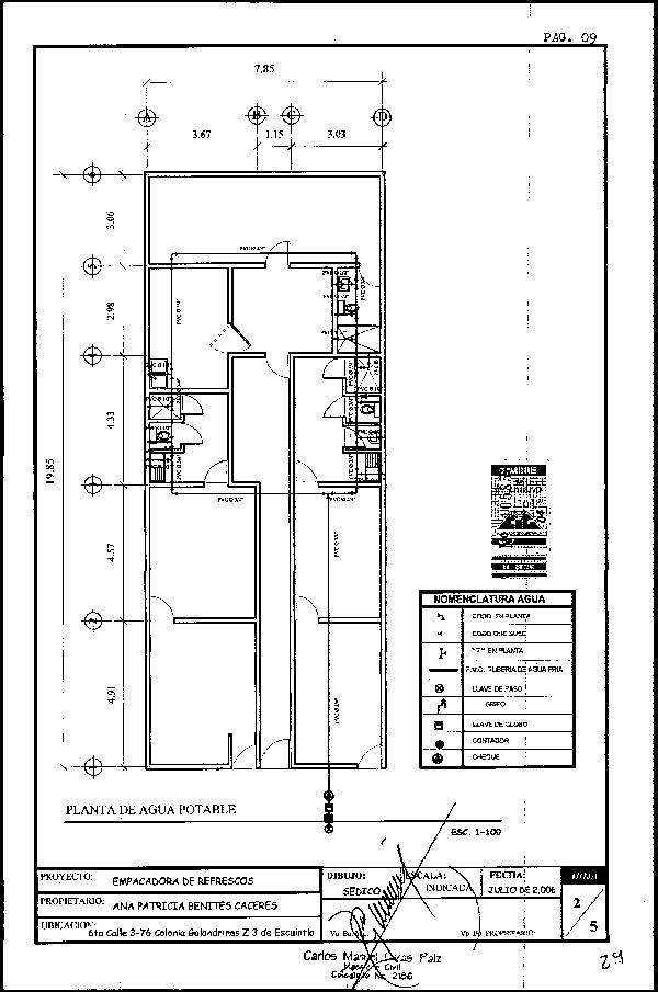 Plano de distribuci n for Normas para planos arquitectonicos
