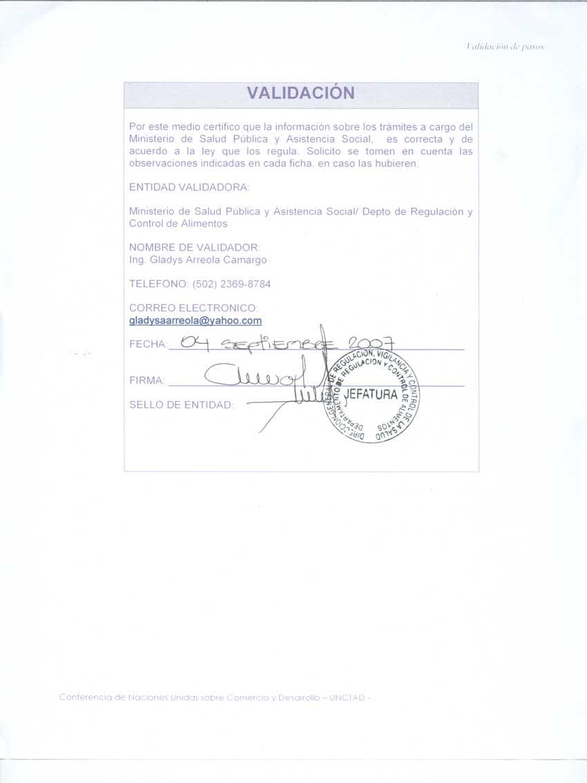 Descargar formulario para solicitud de licencia sanitaria